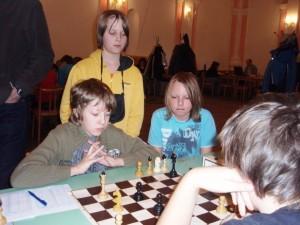 Zaujati situací na šachovnici